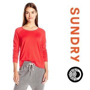 SUNDRY Pullover Sweatshirt 1/S